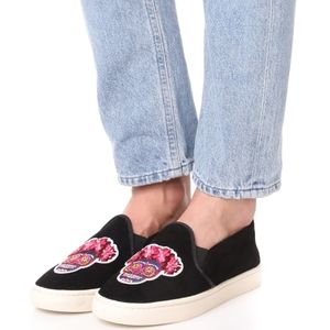 SOLUDOS Day Of The Dead Slip-On Sneakers 7